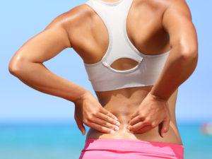 back pain athletes